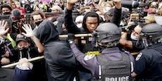 Polizisten bei Anti-Rassismus-Demo in USA angeschossen