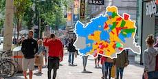Das sind die echten Balkan-Bezirke Wiens