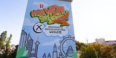 """""""Wien geht wählen"""": Street Art ruft zu Teilnahme auf"""