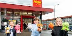 Penny-Meeresbewohner helfen Familien in Not