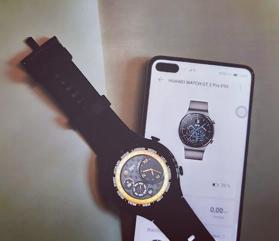 Mehr Features zum Entdecken in Kombination mit der Huawei Health App