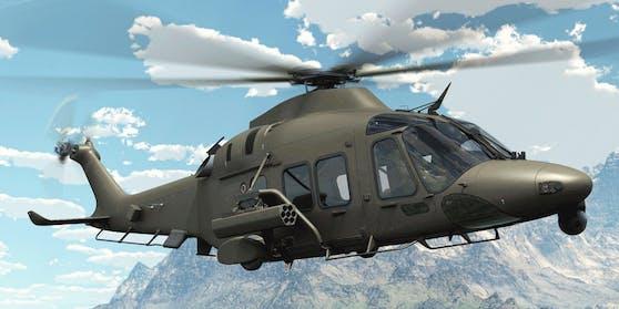 Einer der neuen Hubschrauber (Handoutbild des Herstellers)