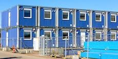 Langfinger lassen kompletten Baucontainer mitgehen