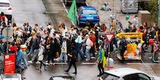 Protest-Freitag! Gleich 3 Klimademos in Wien gestartet