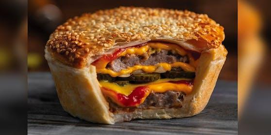 Ein Cheeseburger ohne Kuchen drum herum wäre ja auch langweilig.