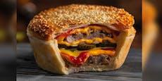 Bäckerei lockt mit Kuchen mit Cheeseburger-Fülle