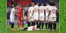 Sevillas Mauer-Trick: Da staunte sogar Bayerns Müller