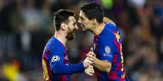 Suarez-Abschied: Messi haut wieder auf Barca-Bosse hin