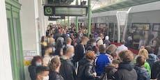 Wiener U6 fährt nach Oberleitung-Riss wieder