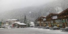 Kaltfront bringt Dauerregen und jede Menge Schnee