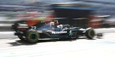 Bottas mit erster Bestzeit, Hamilton weit zurück
