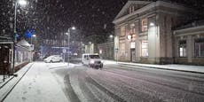 Wintereinbruch! Hier fällt noch Schnee in Österreich