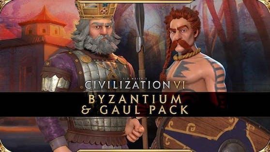 Civilization VI - New Frontier-Pass: Byzanz- und Gallien-Paket ab heute verfügbar.