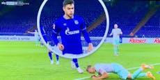 Spuck-Attacke! Schalke-Skandal bei 1:3-Niederlage