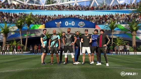 EA SPORTS FIFA 21 kündigt neue Kleidungs-Drops und Talents in VOLTA FOOTBALL an.