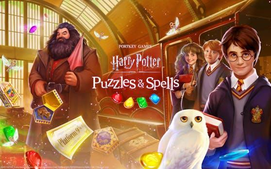 Harry Potter: Puzzles & Spells ab sofort auf Android, iOS, Kindle und Facebook erhältlich.