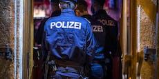 Polizei-Großaufgebot löst illegale Hinterhof-Party auf