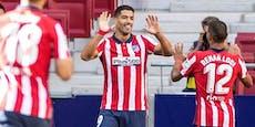 Suarez stellt sich mit Doppelpack bei Atletico-Fans vor