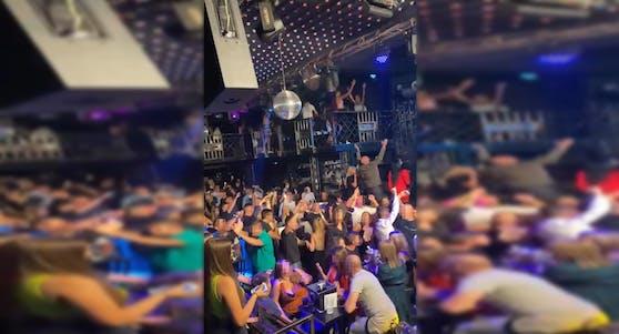 Party-Nacht im Wiener Balkan-Club