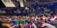 Party geht nach Corona-Razzia in Balkan-Club weiter