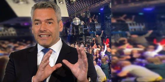 """Innenminister Nehammer (ÖVP): """"Wir alle haben das Corona-Virus satt."""""""