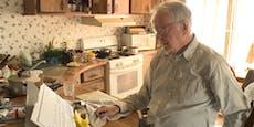 Pizza-Bote ist 89 Jahre alt, nun wird für ihn gesammelt