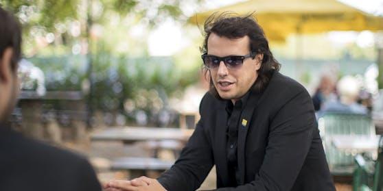 Bierpartei-Gründer Marco Pogo ist vom Ergebnis selbst überrascht.