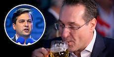 Grab-Vergleich! Jetzt wettert Nepp gegen Bier-Strache