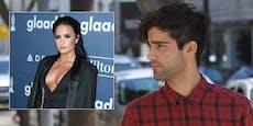Lovato-Ex erfuhr aus Zeitung vom Liebes-Aus