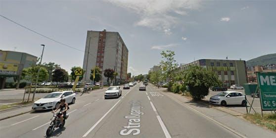 In der Straßganger Straße kam es zur vermeintlichen Entführung.