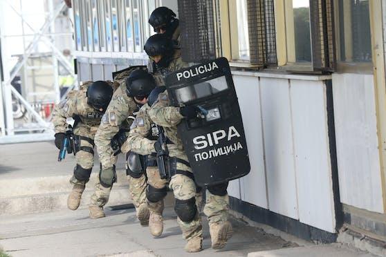 SIPA-Beamte in Bosnien