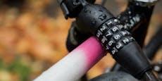 Deshalb stahl Linzer (32) ein rosa Damen-Fahrrad