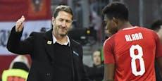 Verletzt? Teamchef Foda gönnt Alaba Ländermatch-Pause