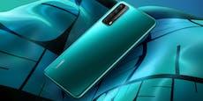 Huawei zaubert auch ein neues Handy aus der Tasche