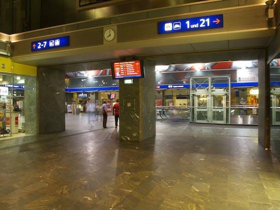 Der Grazer Hauptbahnhof.