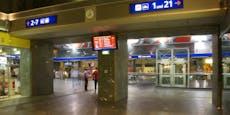 Männer lieferten sich Schlägerei am Grazer Hauptbahnhof