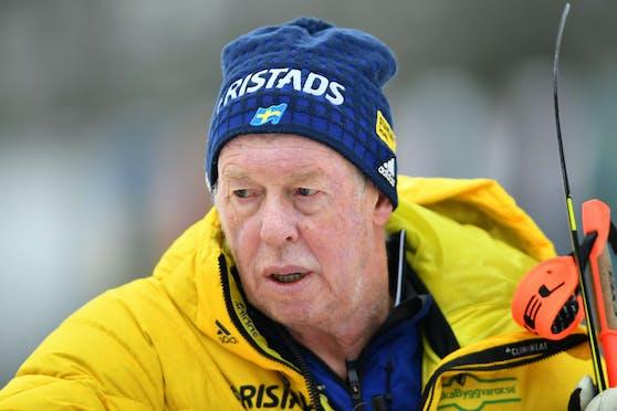 Wolfgang Pichler 2018 in seiner damaligen Funktion als Trainer für das schwedische Biathlonteam.