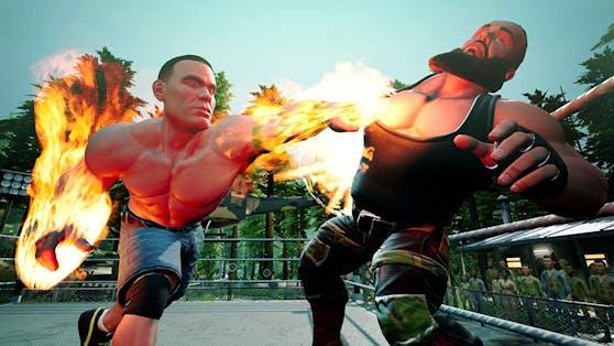 """""""WWE 2K Battlegrounds"""" ist für alle gängigen Plattformen erhältlich."""
