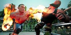 """""""WWE 2K Battlegrounds"""": Bunte Fetzerei im Comic-Look"""