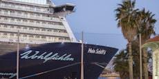 Corona am Kreuzfahrtschiff: 1588 Passagiere sitzen fest