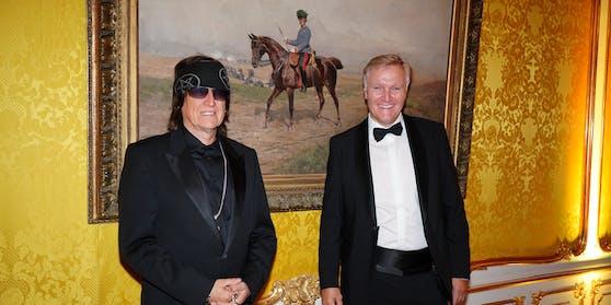 Gottfried Helnwein und Klaus Albrecht Schröder
