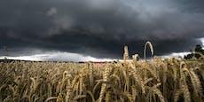 Sommer-Wetter endet bald mit Regen, Blitz und Donner