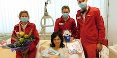 Kleine Lena kam im Rettungswagen zur Welt