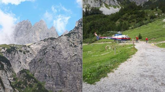 Polizei ermittelt nach Wanderer-Absturz im Kaisergebirge (3. September 2020)