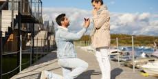 Vermasselter Heiratsantrag sorgt auf TikTok für Lacher