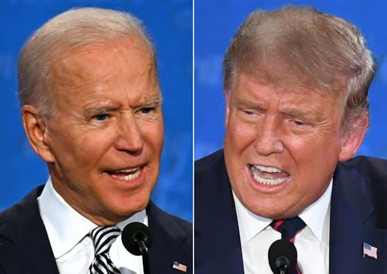Joe Biden fordert Donald Trump heraus.