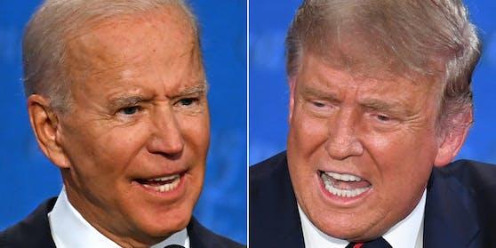 Das erste Duell Trump vs. Biden geriet aus den Fugen, jetzt soll eine Stumm-Taste für Ordnung sorgen