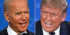 Das Match zwischen Trump und Biden – die Resultate