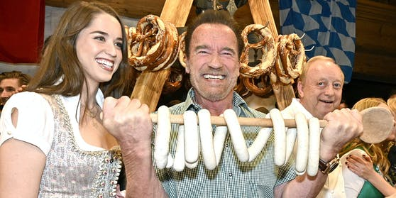 Arnold Schwarzenegger muss 2021 wo anders Weißwürste vernaschen.