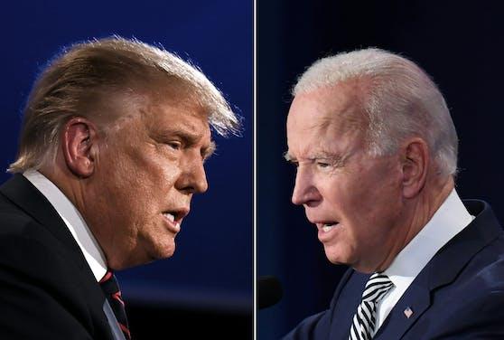 Am Dienstag heißt es: Trump vs. Biden.